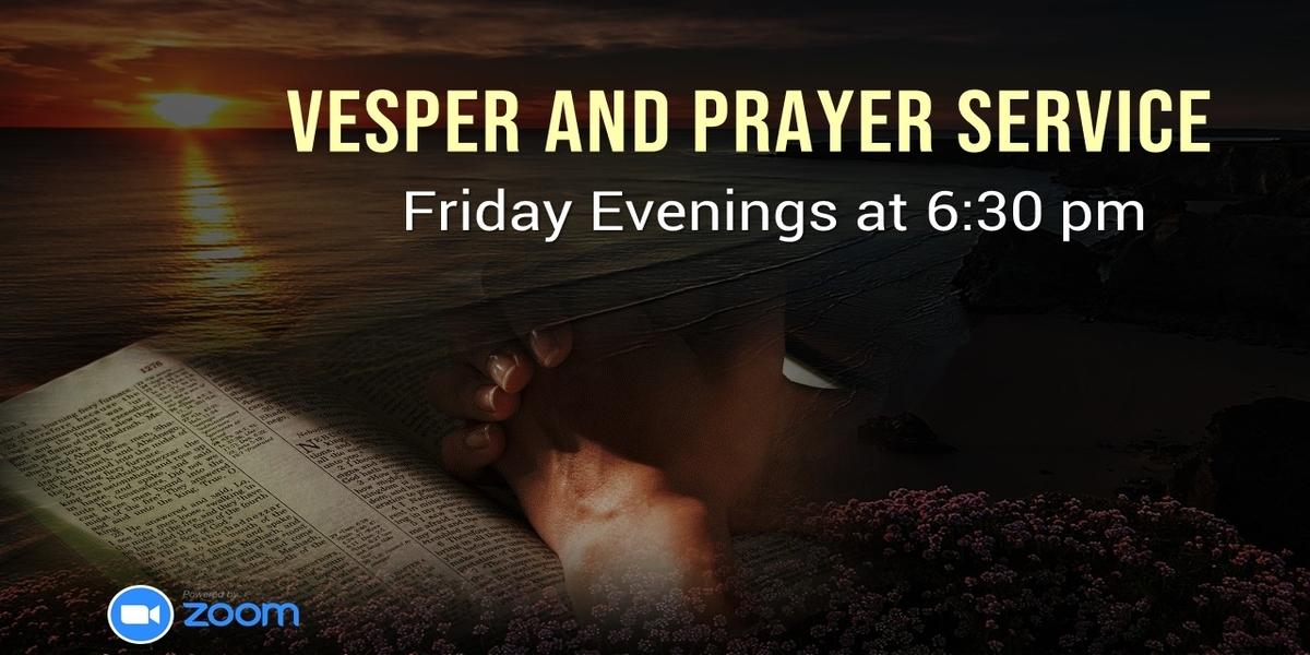 Friday Evening VEsper Service -ebenezer SDA Church Cayman